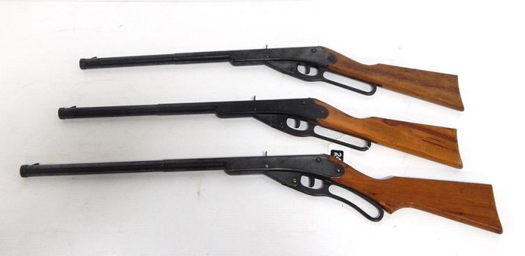 (3) Lever-Action King BB Guns