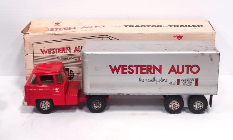 Marx Western Auto Truck