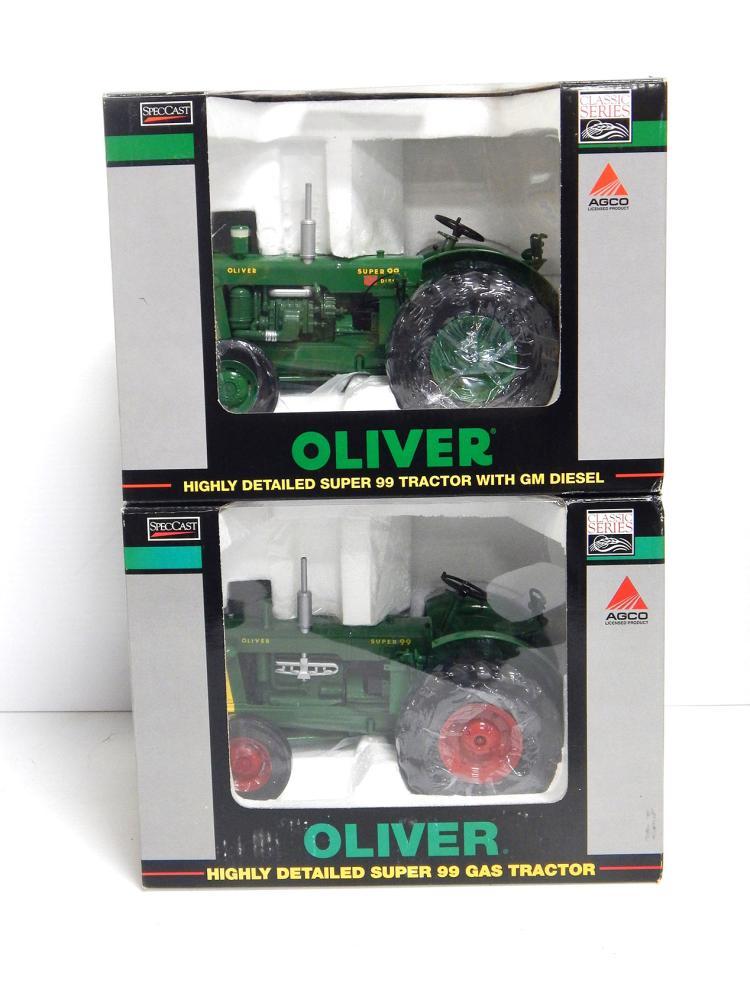 (2) 1:16 Oliver Super 99's