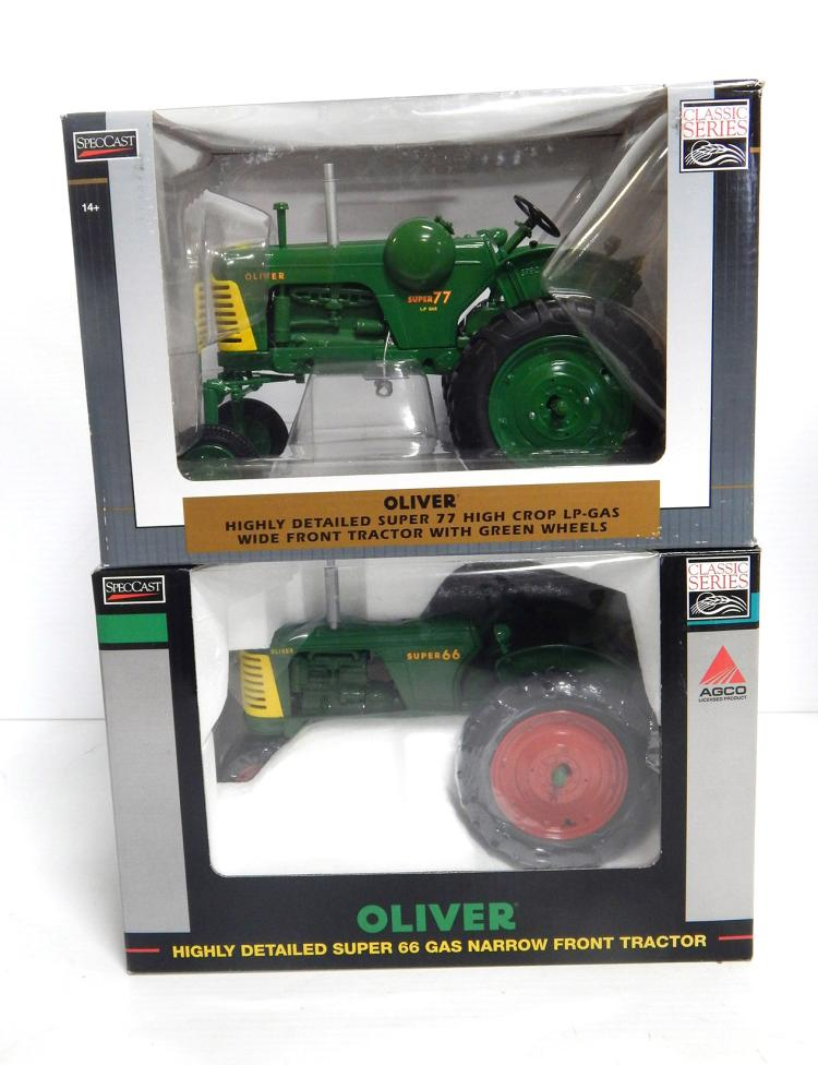 (2) 1:16 Oliver Tractors