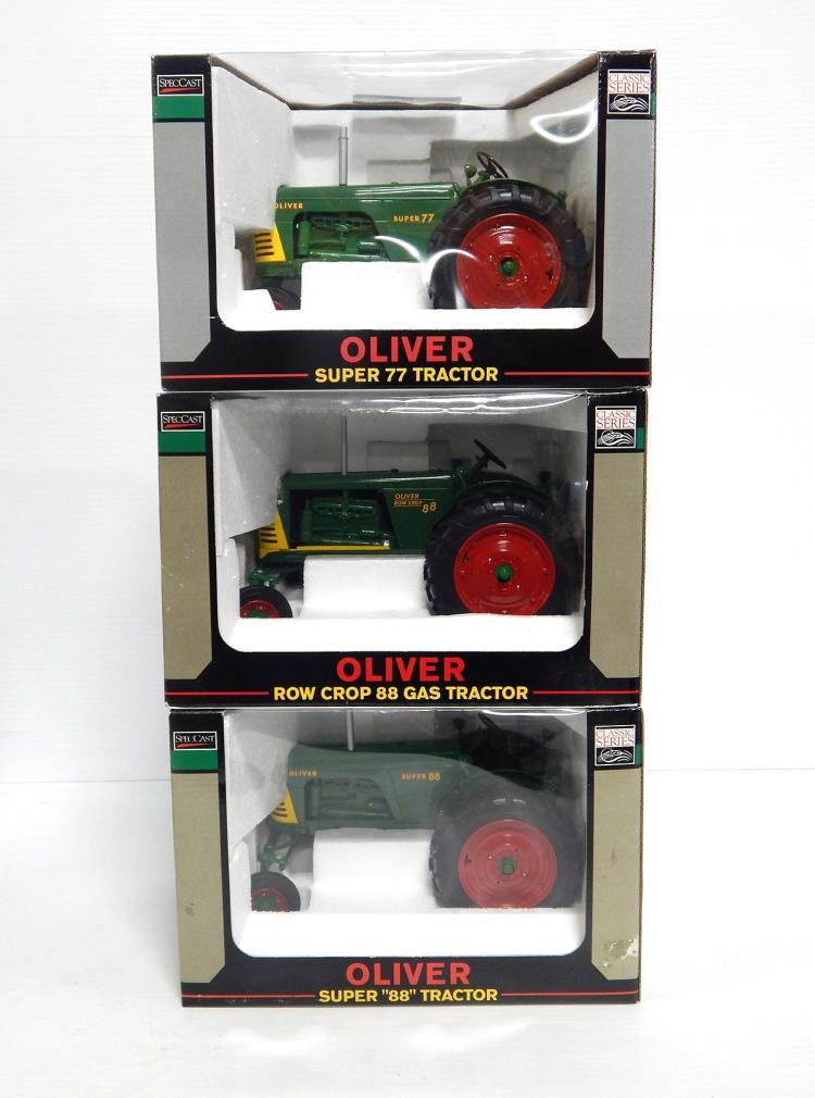 (3) 1:16 Oliver Tractors