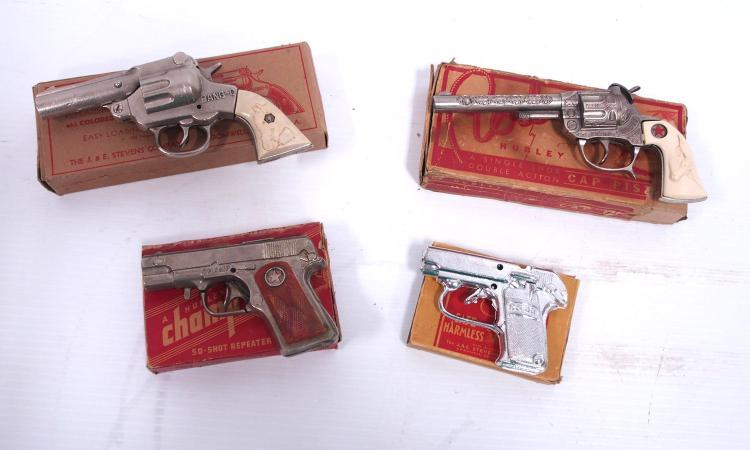 (4) Cap Pistols