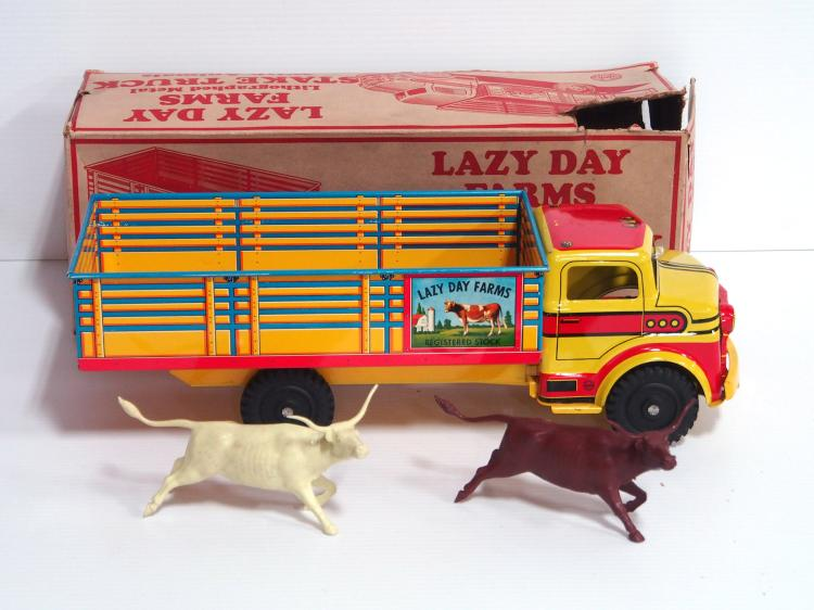 Marx Lazy Day Farms Truck