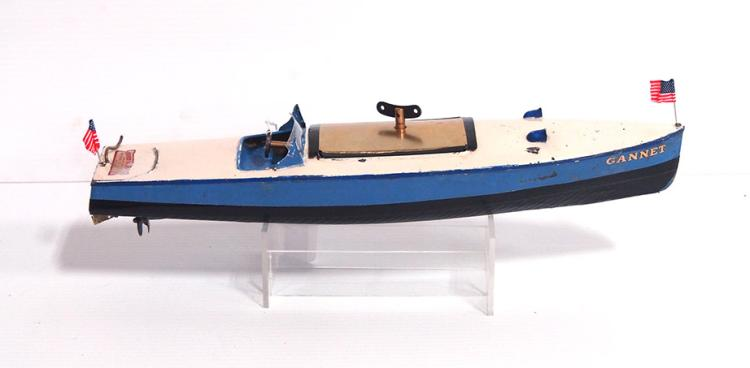 Hornby Wind-up Boat