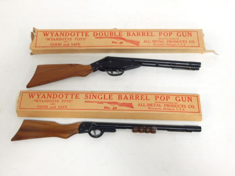 (2) Wyandotte Pop Guns
