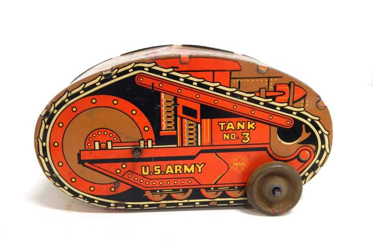 Marx US Army Tank