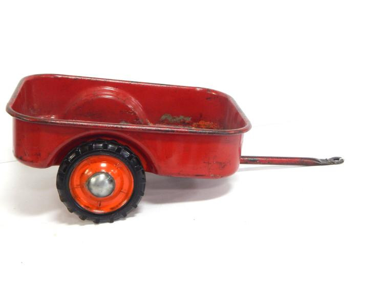 Red Pedal Tractor Trailer