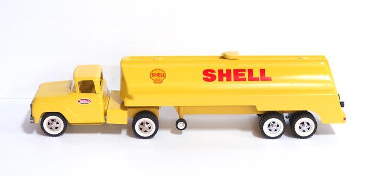 Tonka Shell Tanker Semi
