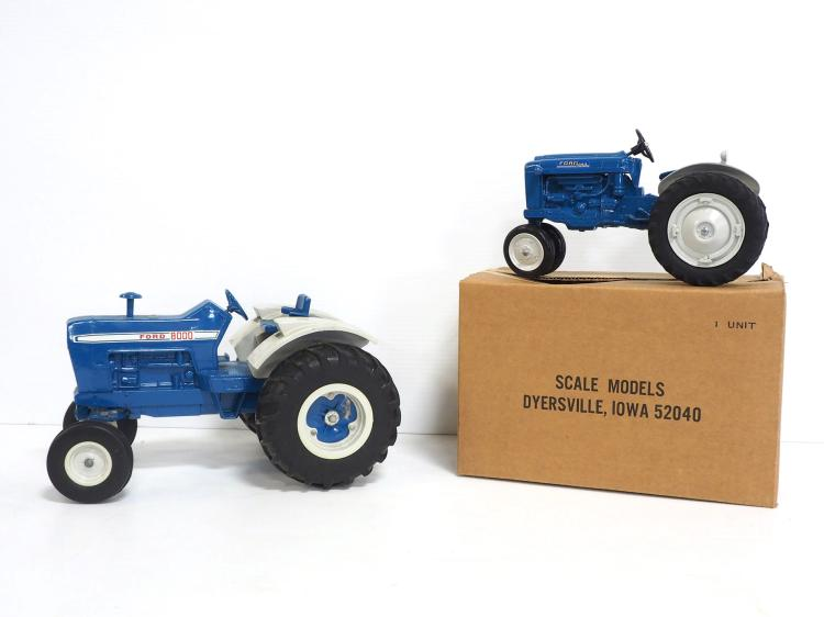 (2) Ford Tractors