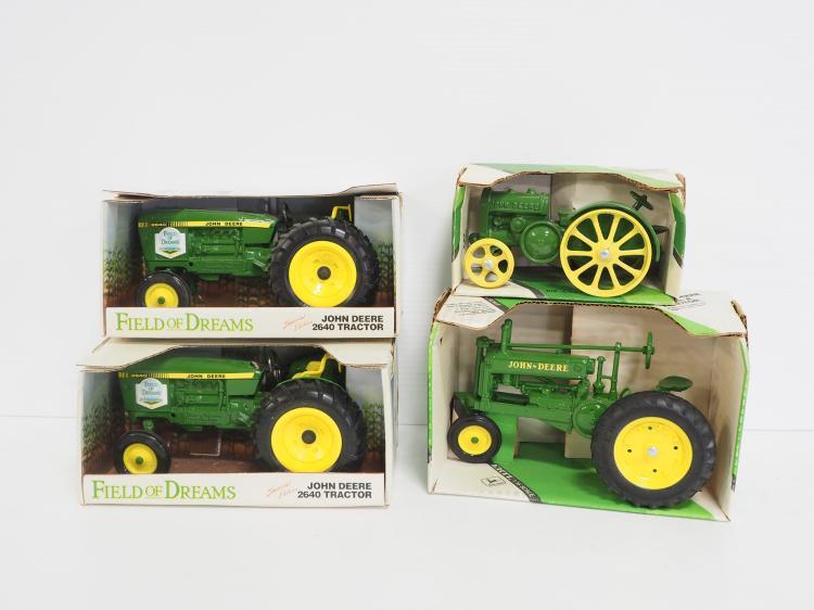 (4) John Deere Tractors