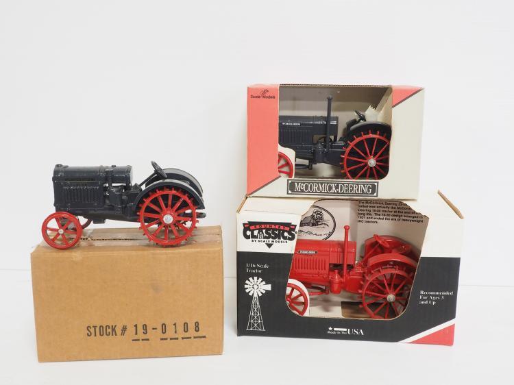 (3) Tractors