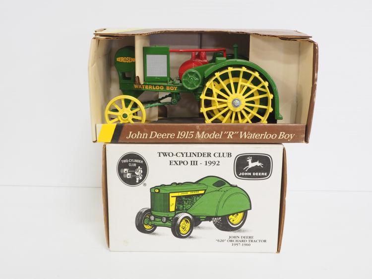 (2) 1:16 John Deere Tractors