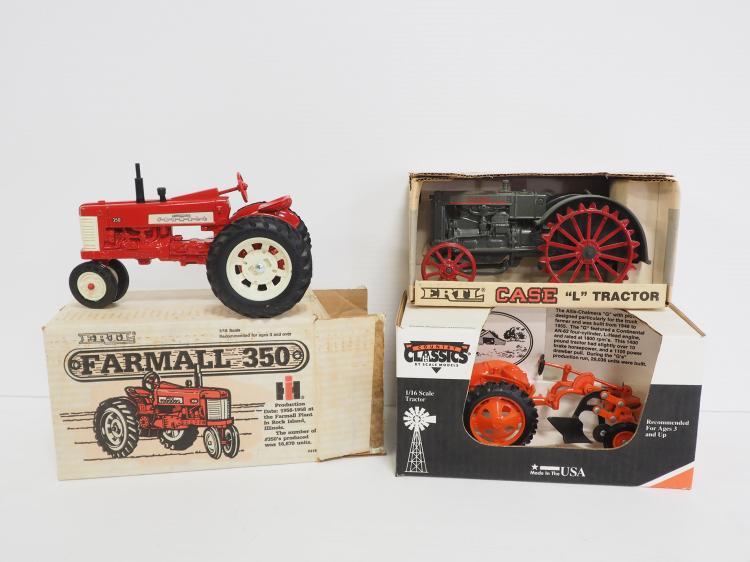 (3) 1:16 Ertl Tractors