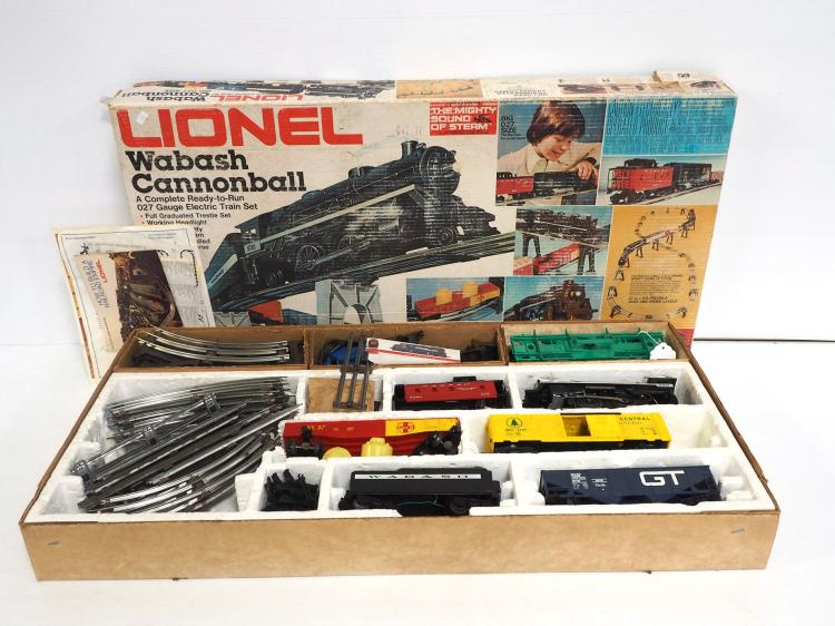 Lionel Size 027 Train Set
