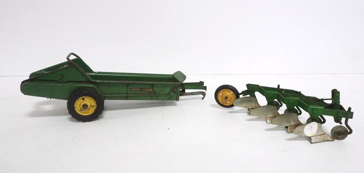 (2) John Deere Implements