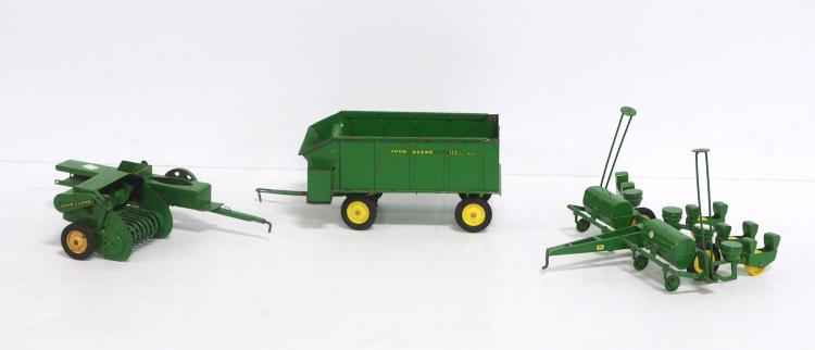 (3) John Deere Implements