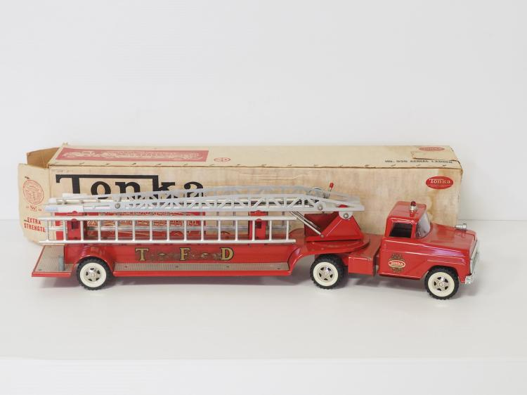 Tonka Aerial Ladder Fire Truck