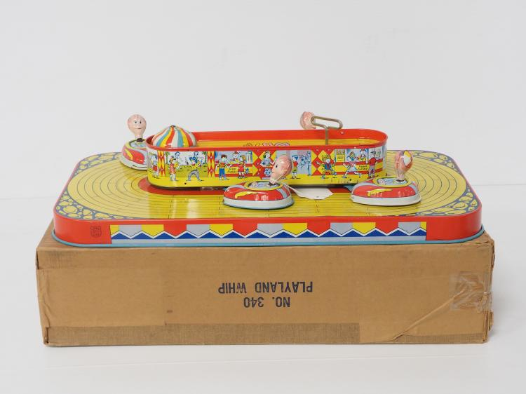 J.Chein Carnival Playland Whip
