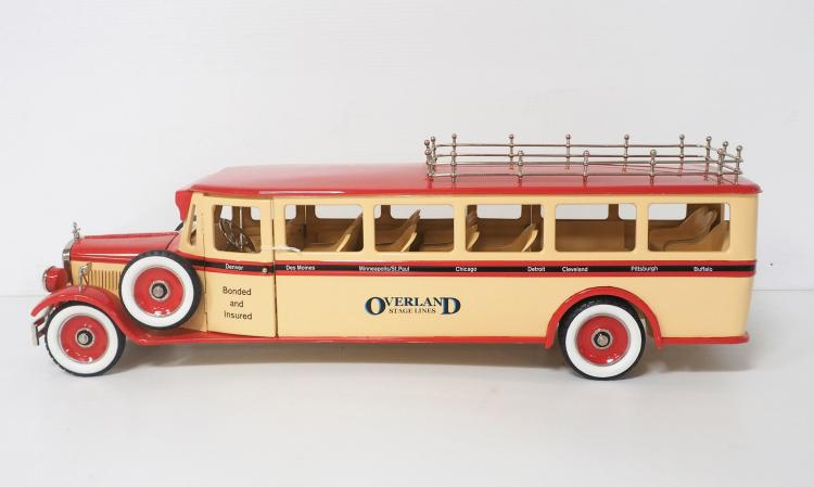 Overland Stage Lines Bus