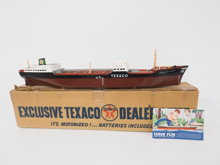 Texaco Oil Ship