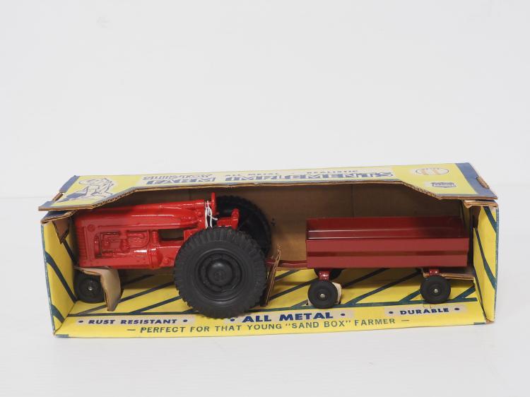 Slik Toy Tractor & Wagon