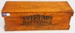 Wooden Eveready Battery box, great stenciling, very good condition