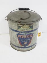 Falls City Elevator Minnow Bucket
