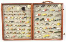 Salesman Sample Heddon Lure Display