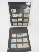 Lot of Bird Postage Stamps