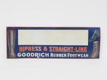 Goodrich Rubber Footwear Sign
