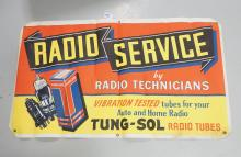 Tung-Sol Radio Tubes Banner