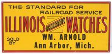 Illinois Watches Sign