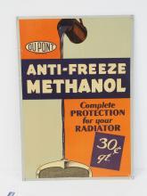 Dupont Anti-Freeze Sign