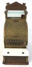 Brass Cash Register