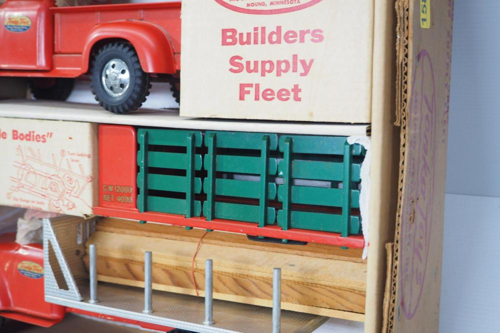 Tonka No.0875-5 Builders Supply Fleet, WOW!