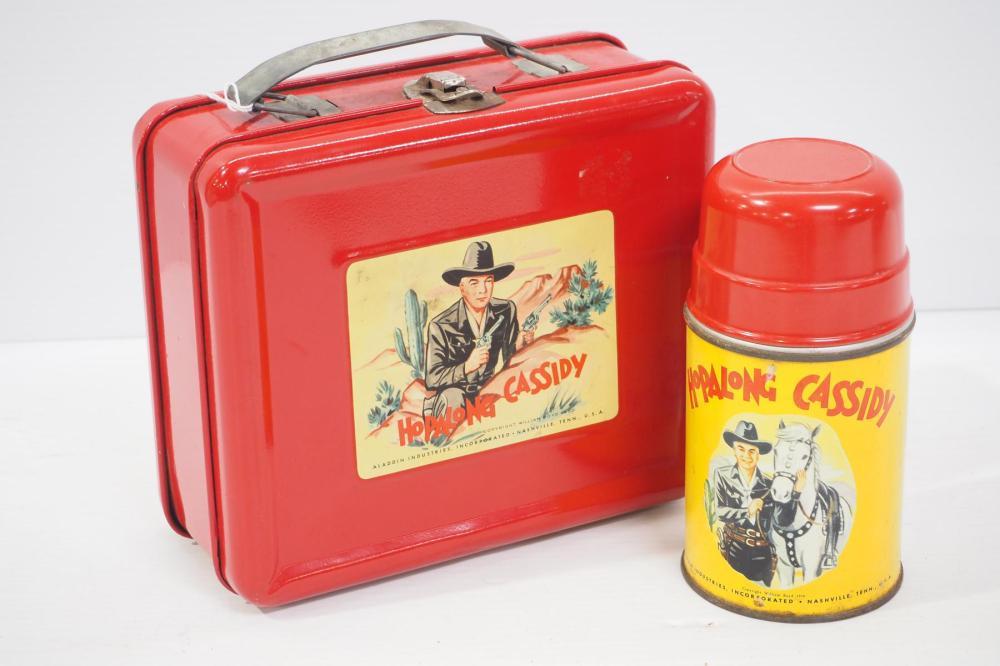 Hopalong Cassidy tin lunch box