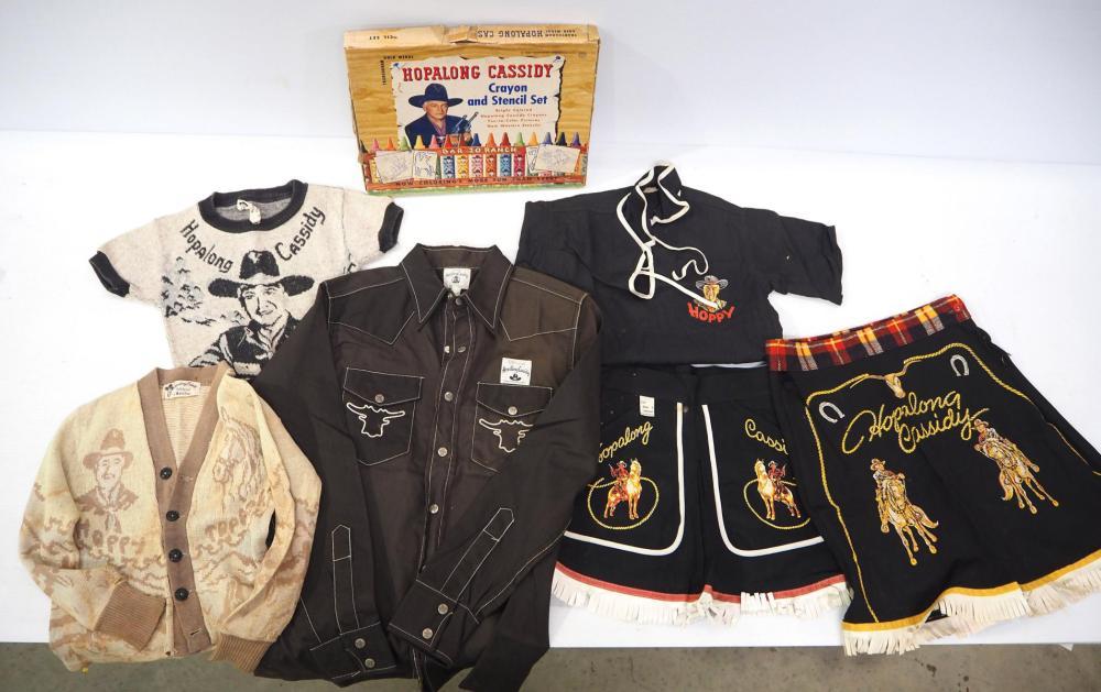 Hopalong Cassidy child's clothing