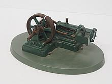 Brass & cast iron model steam engine - UPDATED INFO!!