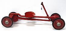 NOS Irish Mail Car child's hand powered go cart