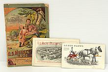 Early 49-page pamphlet for LeRoy Plow Co. / 1915 LeRoy Plow Co. pamphlet