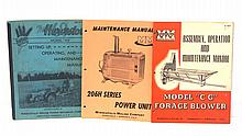 (3) Minneapolis Moline manuals