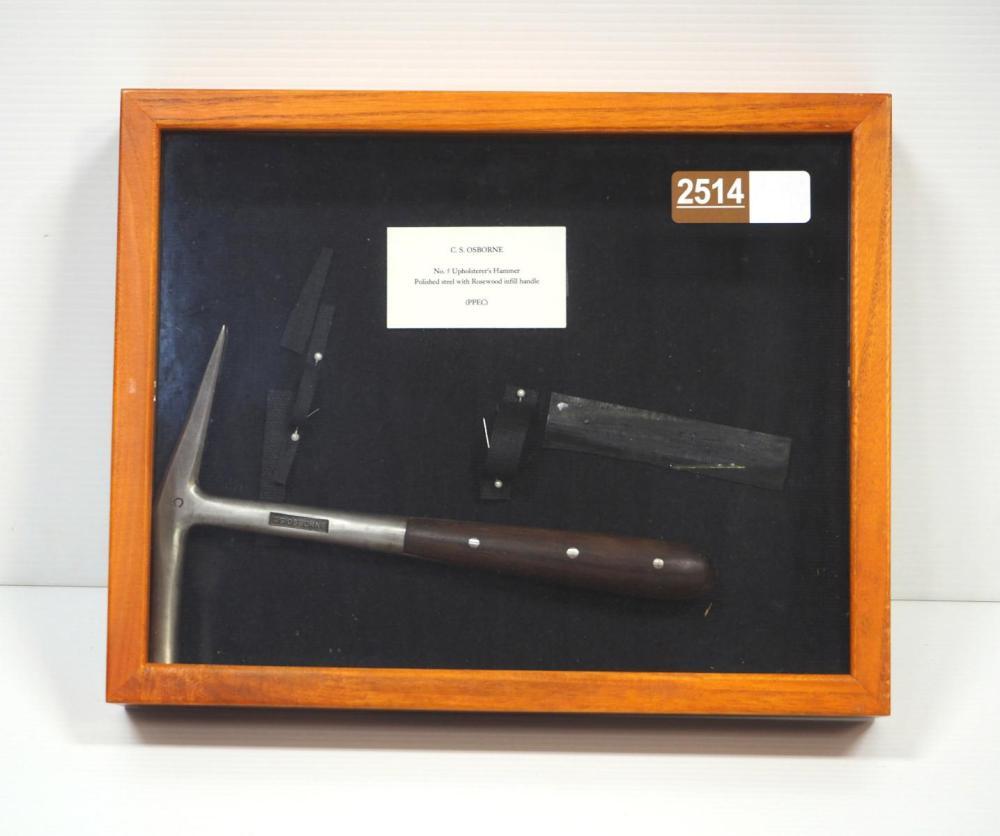 C.S. Osborne No.5 Upholsterer's Hammer