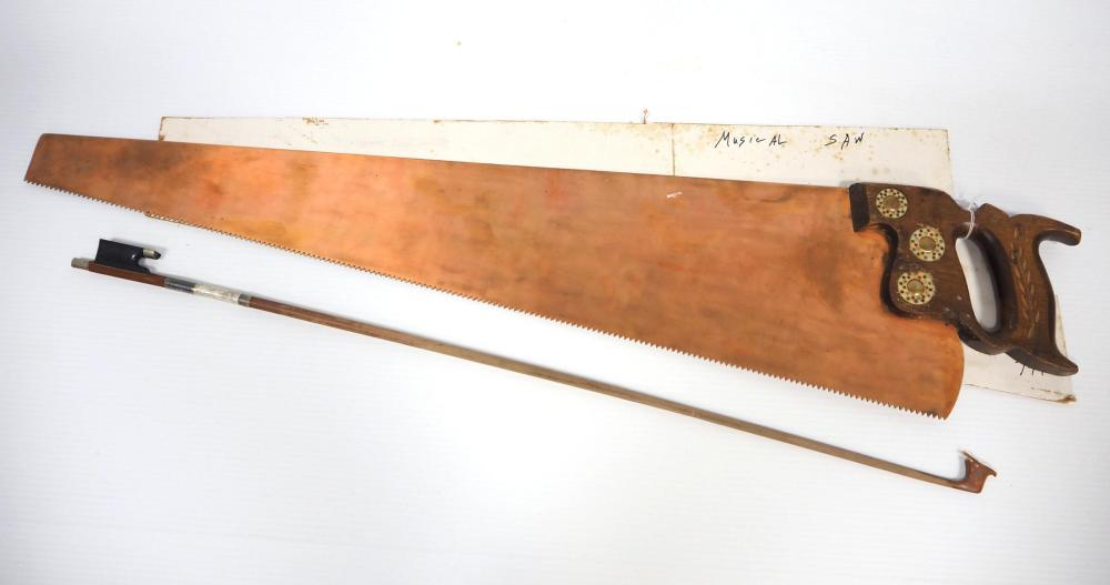 """34""""L Musical Saw with bow"""