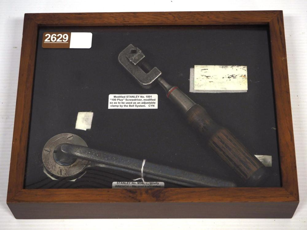 (2) Special Stanley screwdrivers