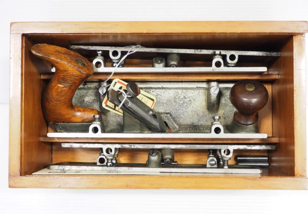 Stanley No.57 Core Box Plane with 4 extensions