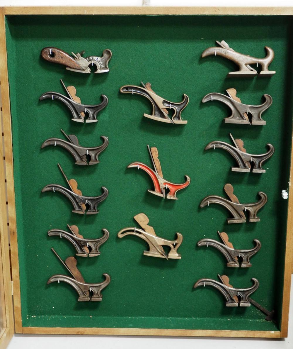 (15) Antique Tailed Coach Maker's Rabbet Planes