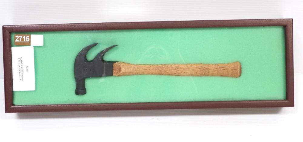 Trans Atlantic Co. Double Claw Hammer