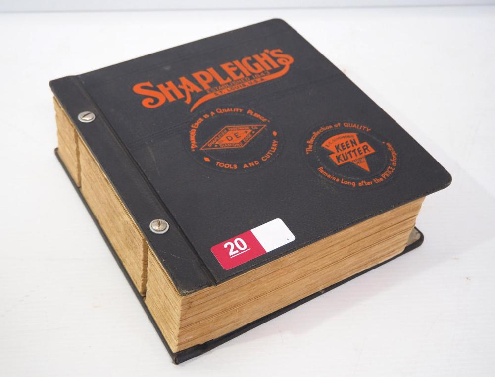Shapleigh's Keen Kutter catalog