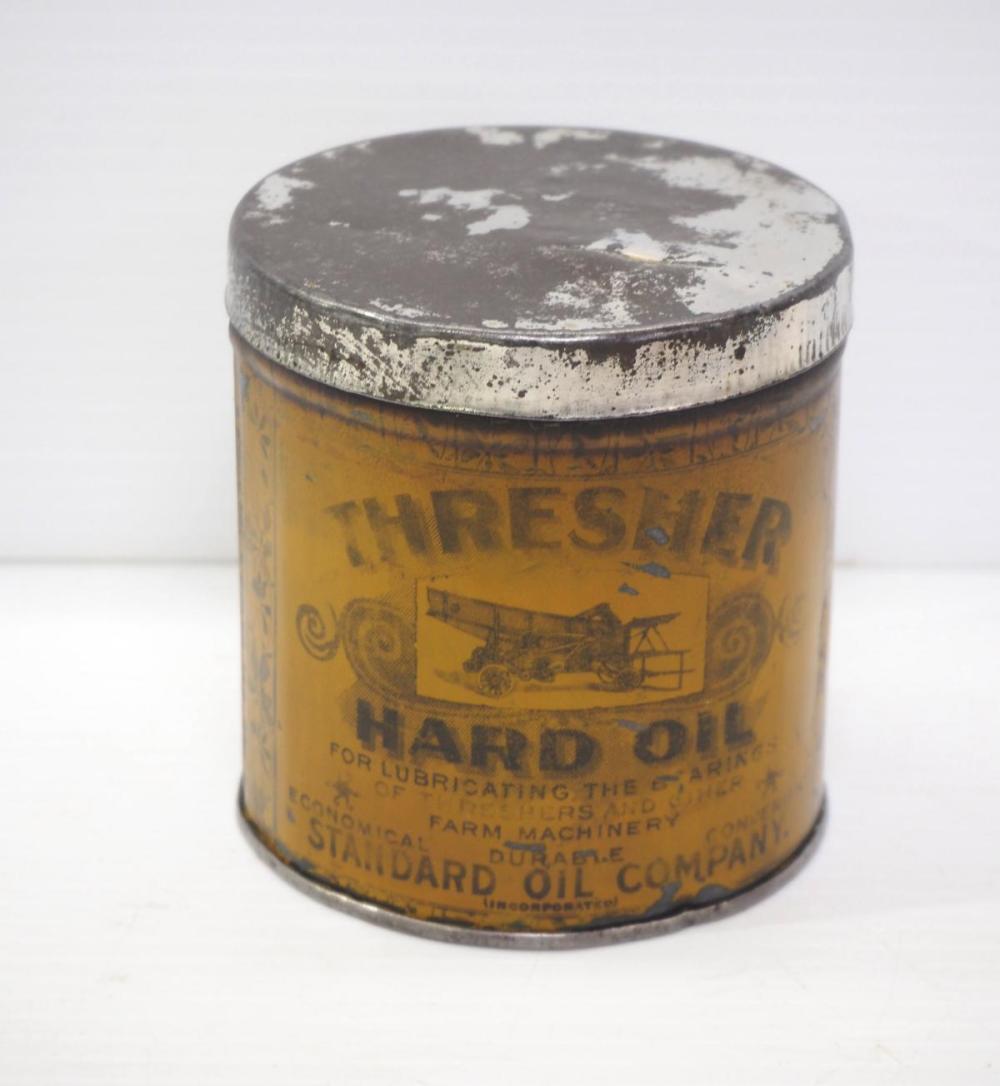 Thresher Hand Oil pint size tin