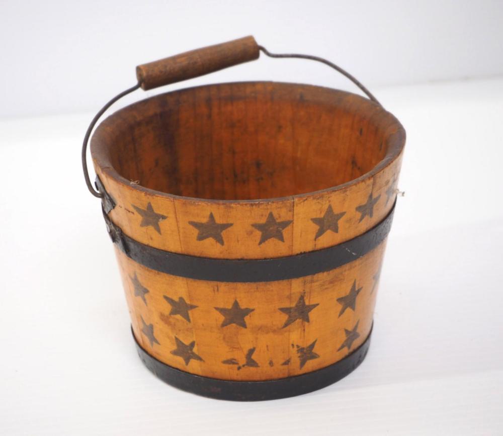 Wooden miniature pail
